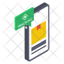 Order Tracking Mobile Tracking Online Tracking Icon