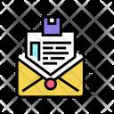 Order Sending Letter Icon