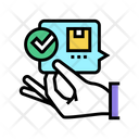Order Delivered Accepted Icon