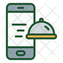 Ordering Food Online Food Ordering Smartphone Icon