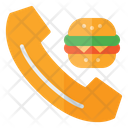 Ordering Food Ordering Burger Call Icon