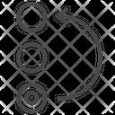 Organize Ordering Revert Icon