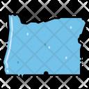 Oregon States Location Icon