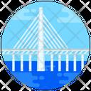Oresund Bridge Bridge Footbridge Icon