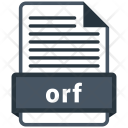 Orf File Formats Icon