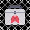 Organ Transplantation Hospital Storage Icon