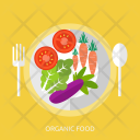 Organic Food Agriculture Icon
