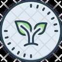 Organic Biological Leaf Icon