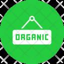 Organic Food Hanger Icon