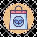 Organic Bag Paper Bag Ecofriendly Bag Icon