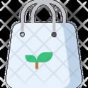 Organic Bag Eco Bag Shopping Bag Icon