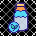 Organic Beverage Icon