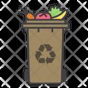 Organic Bin Container Bin Icon