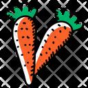 Carrots Organic Carrots Vegetable Icon