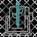 Organic Content Digital Icon