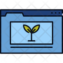 Organic Content Content Writing Organic Material Icon