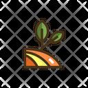 Organic Farming Icon