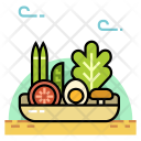 Organic Food Grocery Icon