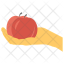 Organic Fruit Icon