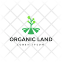 Organic Land Icon