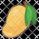 Organic Mango Healthy Food Organic Fruit Icon