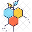 Organic Science Science Matter Chemical Structure Icon