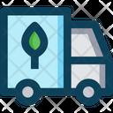 Organic Truck Icon