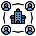 Organisation Company Team Icon