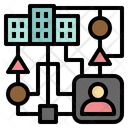 Organisation Diversity Icon