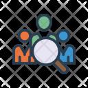 Organization Management Search Icon