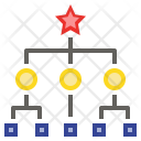 Organization Chart Order Icon