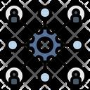 Organization Team Composition Icon