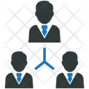 Organization Manager Leader Icon