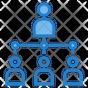 Organization Structure Hierarchy Icon