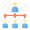 Organization Structure Hierarchy Icon