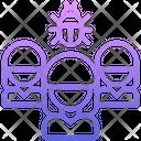 Organization Virus Bug Icon