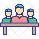 Organization Project Management Project Team Icon