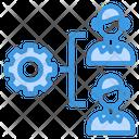 Organization Gear Management Icon