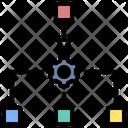 Organization System Process Icon