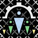 Organization Teamwork Leader Icon