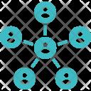Organization Company Connection Icon