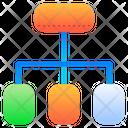 Organization Chart Organization Diagram Icon