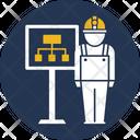 Organization Chart Engineer Diagram Engineer Chart Icon
