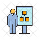 Organization Chart Presentation Icon
