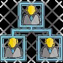 Organization Chart Office Management Icon