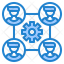 Organization Diagram Icon