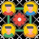 Organization Diagram Organization Flowchart Organization Graph Icon