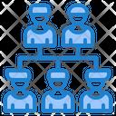 Organization Flowchart Icon