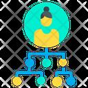 Organization Hierarchy Icon