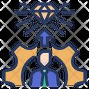 Organization Self Training Icon